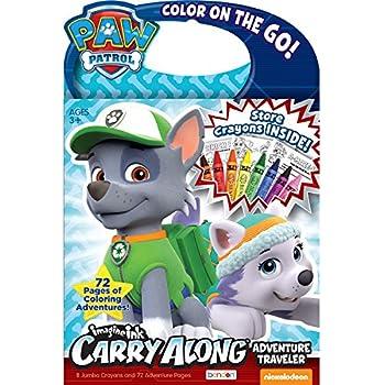 bendon 36323 paw patrol imagine ink traveler activity book including 8 crayons - Imagine Ink Coloring Book