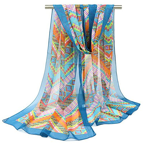 idowind-classical-national-wind-scarf-dual-use-thin-section-scarf-grid-pareo-blue-160x50cm