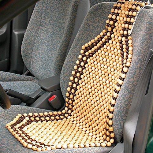 Dios Wooden Diosstore951 Bead Seat Acupressure Design Universal Size Amazonin Car Motorbike