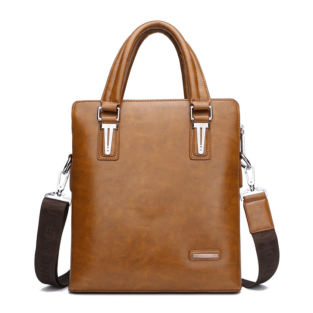 Saobao Travel Luggage Tag Donkey PU Leather Baggage Suitcase Travel ID Bag Tag 1Pcs