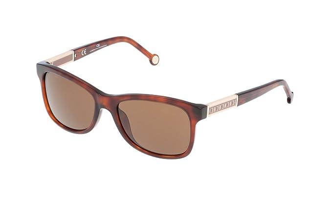 Carolina Herrera SHE5945509XW, Gafas de Sol para Mujer, Marron, 55