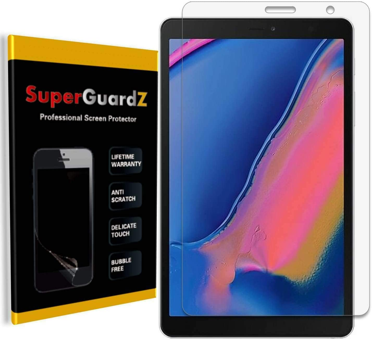 LGYD 25 PCS AG Matte Anti Blue Light Full Cover Tempered Glass for Galaxy A70 Screen Protector Film
