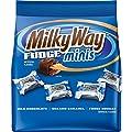 MILKY WAY Fudge Minis Chocolate Candies 8.9 Ounce Bag