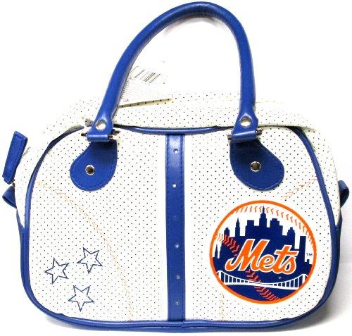 MLB New York Mets Ethel Handbag, Small, Royal (Bowler Small Handbag)