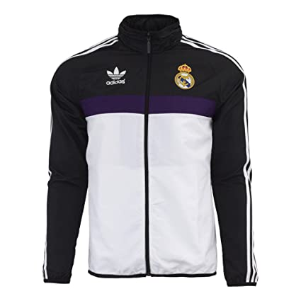 6d484040720 Amazon.com   adidas Mens Originals Real Madrid Windbreaker XX-Large ...