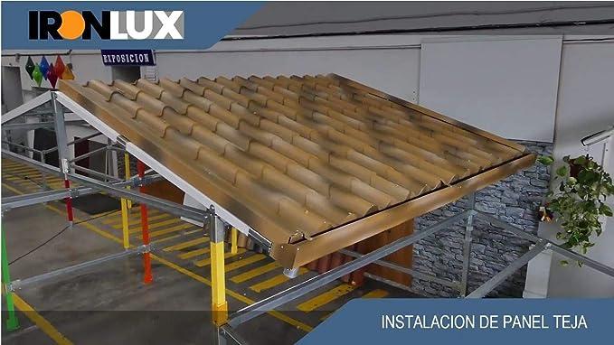 KIT Estructura Galva - Carpa 1 Agua - 2x2x2,5m (h): Amazon.es: Bricolaje y herramientas