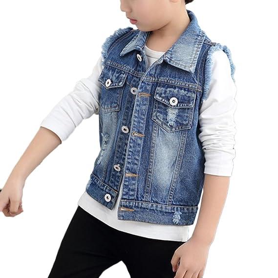 f71e620411fe4 CHIC-CHIC Blouson Motard Veste Floral Imprimé Fille Garcon - Jeans ...