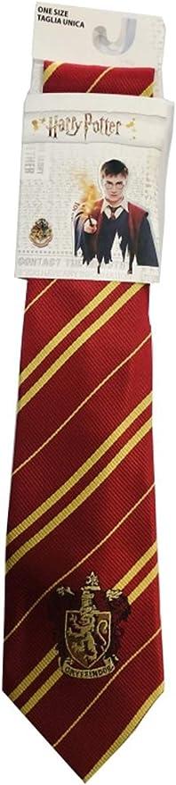 Sabor Corbata Adulto Casa Gryffindor con Emblema Original 140 ...