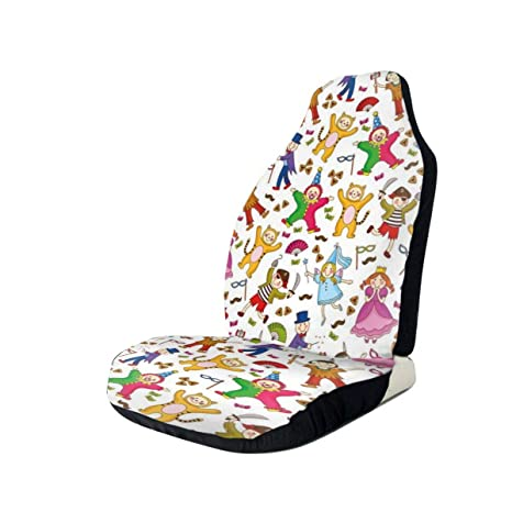 Surprising Amazon Com Gultmee Car Front Seat Covers Vehicle Protector Dailytribune Chair Design For Home Dailytribuneorg