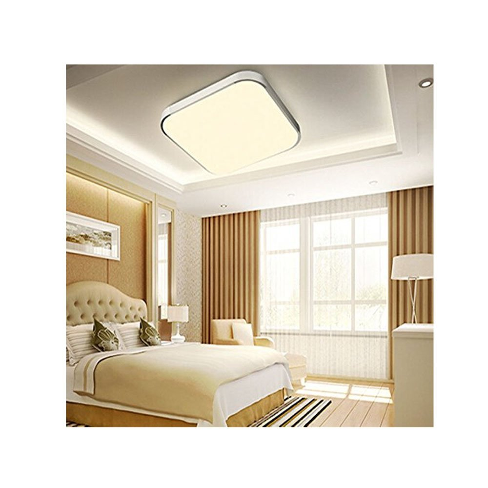 MCTECH 18W Bianco caldo plafoniera LED Moderna lampada da soffitto ...