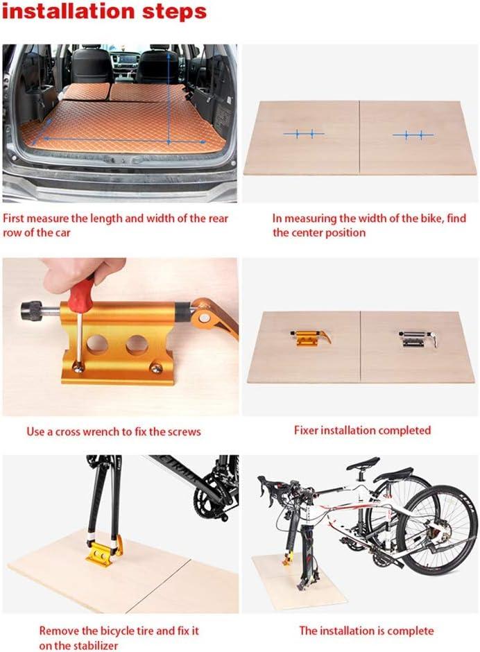 Details about  /Auto Fahrradträger Schnellverschluss Gabelhalter Block für Innenraum 16,5 cm