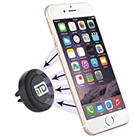 Deals on iTD Gear Universal Magnetic Car Vent Mount Holder in Black