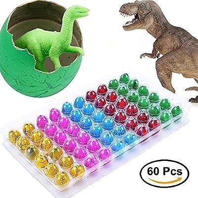 Taotuo - Huevos de Dinosaurio a Juego, 60 Huevos de ...