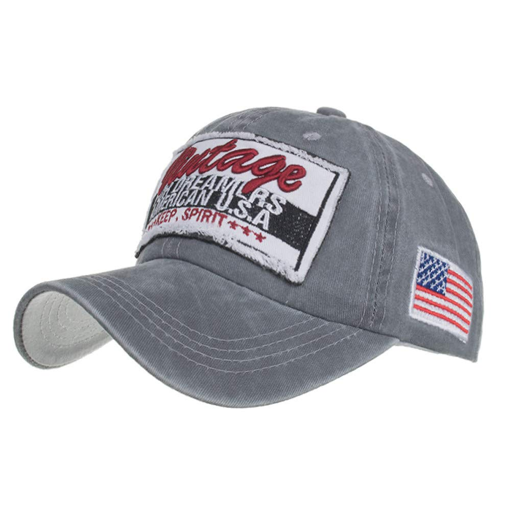 DDKK Unisex Sport Casual Cap Summer Quick Drying Sun Hat 100/% Durable Sturdy Polyester Hat Washed Cotton Letters Hats