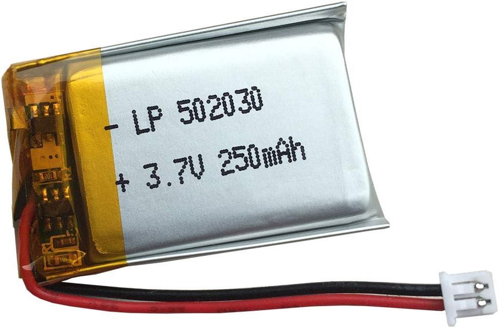 Bateria 502030 3.7V 250mAh con PH1.25 Plug