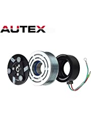 AUTEX AC A/C Compressor Clutch Assembly Kit 80221SWAA02 38810RRBA01 4918U1 Replacement for 2006 2007