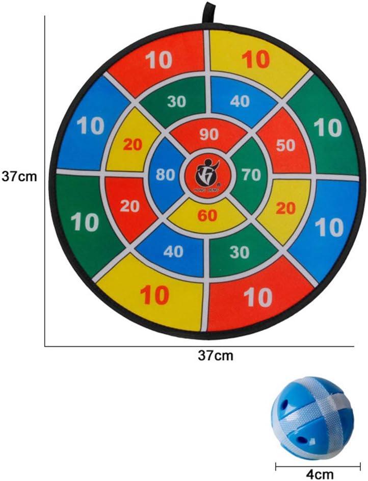LIOOBO Kinder Dartscheibe Klettballspiel Fangballspiel Ballspiel Set mit 8 B/älle Dartboard f/ür Kinder Outdoor Sport Spielzeug