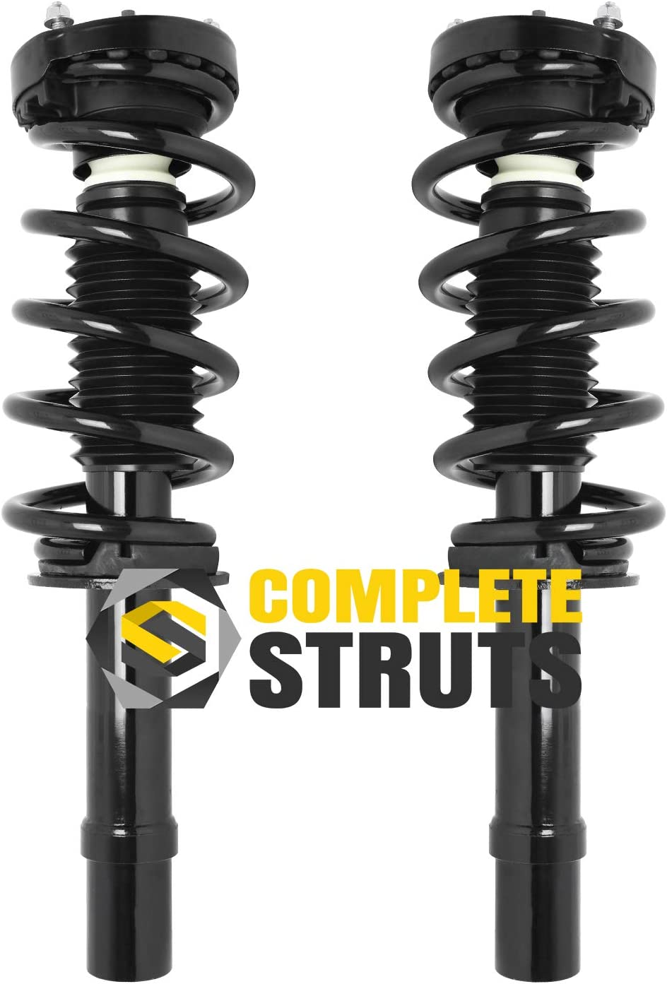 Front Quick Complete Struts /& Coil Spring Assemblies Compatible with 2012-2017 Dodge Charger V6 AWD Pair