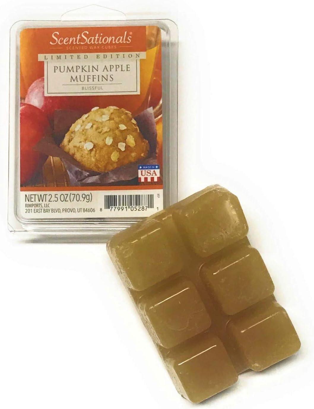 ScentSationals Pumpkin Apple Muffins Scented Wax Cubes