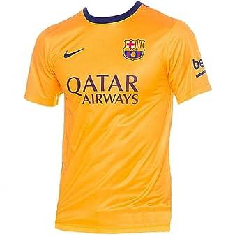 Nike - Camiseta de niños 2ª equipación FC Barcelona 2015-2016 Supporters 7db57150358