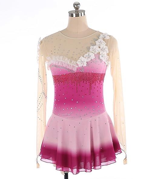 Heartm Eislaufen Handgemachtes Kleid Für Mädchen Frauen Figur Figur
