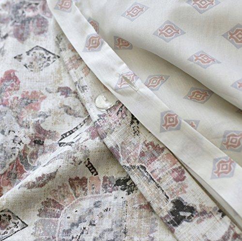 Tahari Home Vintage Damask Ornate Scroll Luxury Duvet