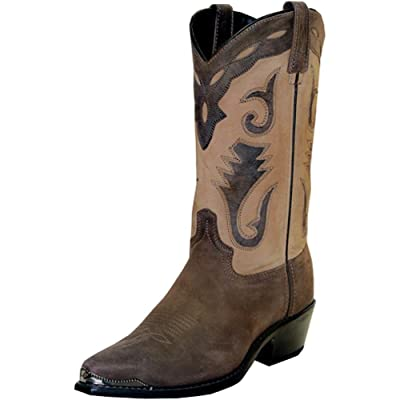 Abilene Men's Sage by Distressed Western Boot Pointed Toe - 4744 | Western