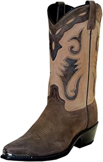 product image for Abilene Men's Sage by Distressed Western Boot Pointed Toe - 4744