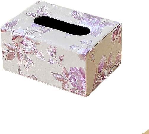ENXING Caja de pañuelos Caja Rectangular para pañuelos Papel de Cuero Repujado Toalla Servilletero Portarrollos Impermeable (La Belleza) Gris Claro 17x12x8.5cm Trompeta: Amazon.es: Hogar