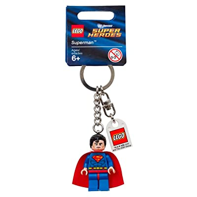 LEGO Superman Key Chain 853430: Toys & Games