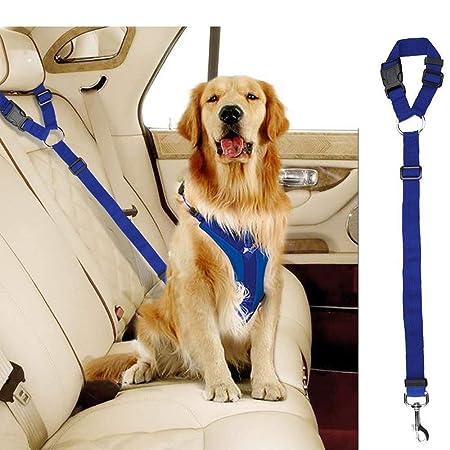 PET LEASH FIRENO Cinturón de seguridad ajustable para perros Arnés ...