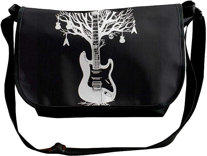 Bolso bandolera para guitarra, diseño de árbol blanco, para ...