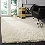 Safavieh California Shag Collection SG151-1212 Ivory Area Rug (8' x 10')