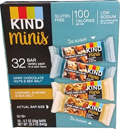 KIND Bar Mini's, Dark Chocolate Nuts (Best Selling Chocolate Bar In The World)