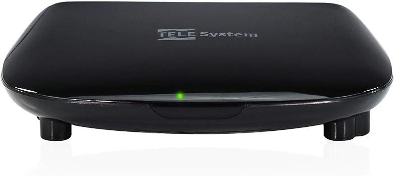 TELE System TS3011 HD S2 FTA Decodificador de satélite Digital: Amazon.es: Electrónica