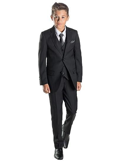 Paisley of London, Niño negro traje, niño traje ceremonia niño, Niños trajes boda