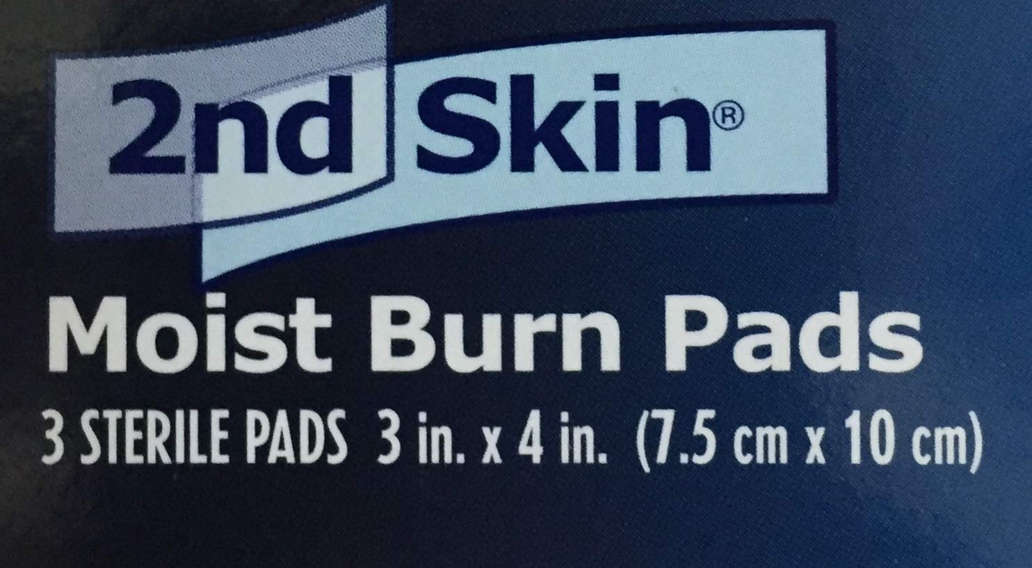 2nd Skin First Aid Moist Wound Care Burn Pad 3'' x 4'' (6 Boxes) by Milliken Medical - MS46330 by Milliken