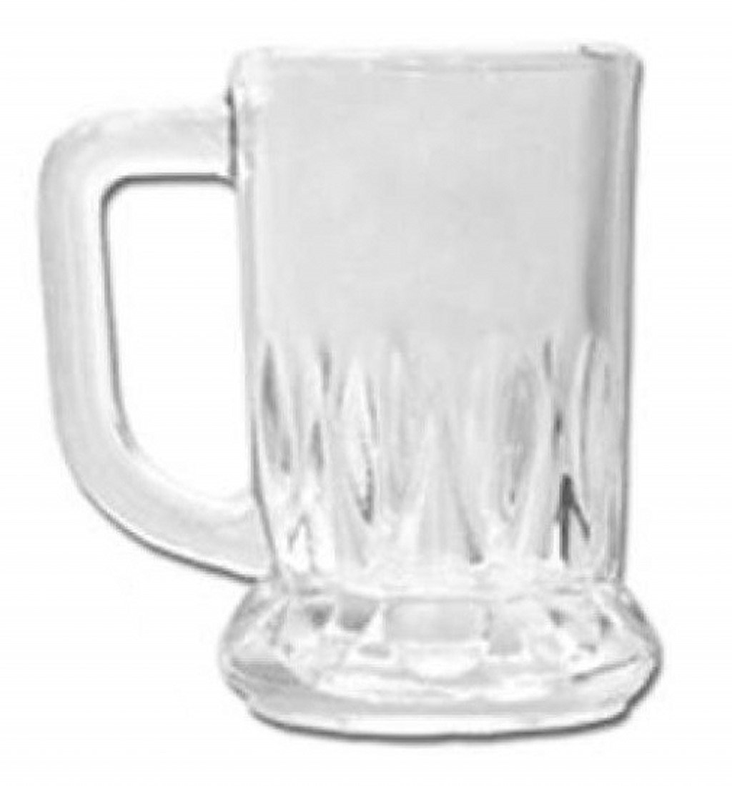 6 Schnapsgläser Mini Bierglas 40ml 6er Set Whisky-Schuss Alkohol ...