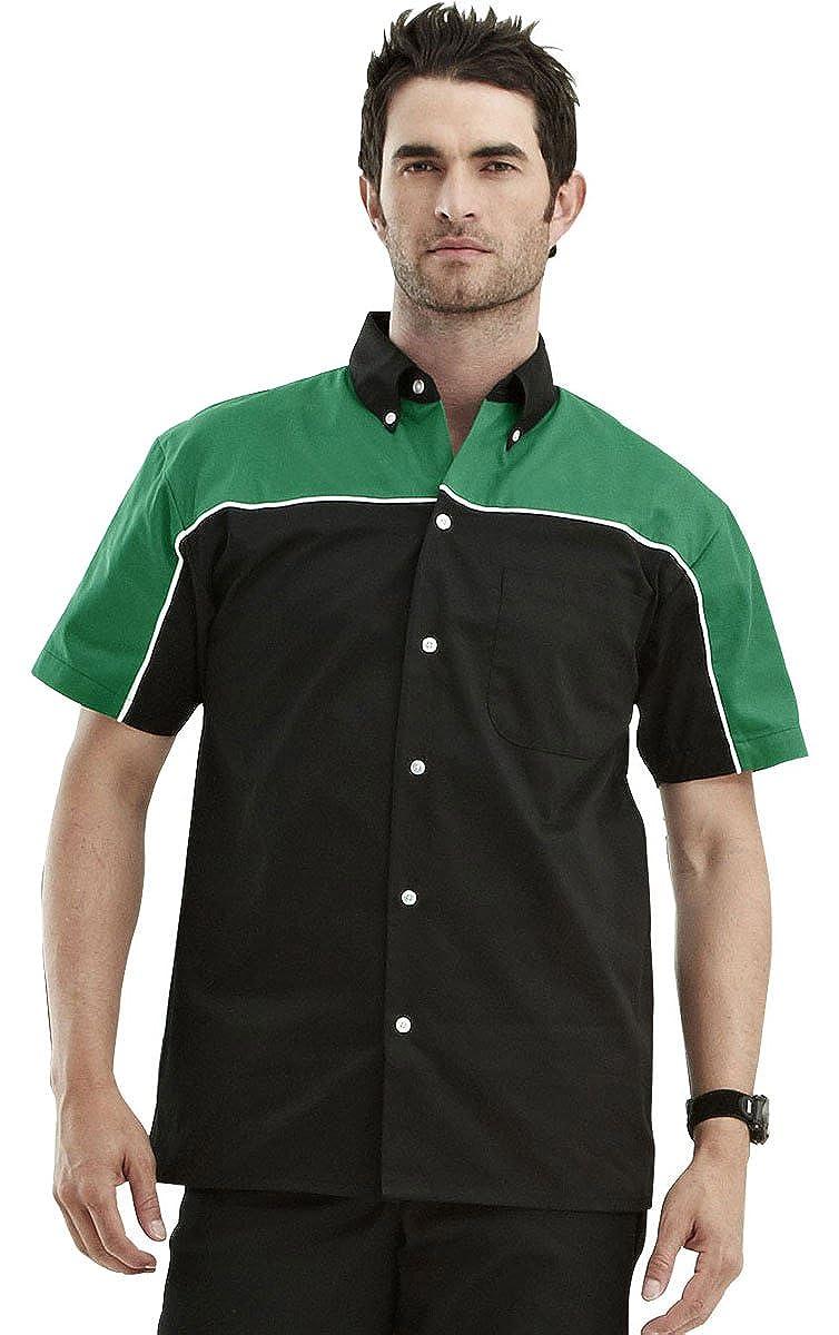 8 Colors, XS-6XLT Tri-Mountain TRM Mens Poly//Cotton Downshifter Short Sleeve Twill Shirt