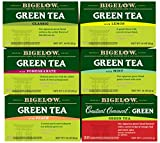 Bigelow Mixed Green Teas 20 Count (Pack of 6) Caffeinated Individual Green Tea Bags, for Hot Tea or Iced Tea, Drink Plain or Sweetened with Honey or Sugar Review