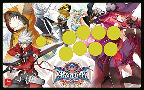 BLAZBLUE CENTRALFICTION 2.0 authorized special faceplate Fight Stick Art for Mad Catz TE2 and TE2+ (Bb Faceplate)