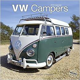 Vw Camper Calendar Calendars 2017 2018 Wall Calendars Car