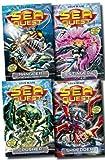 img - for Sea Quest Series Collection Adam Blade 4 Books Set (5 to 8) (Mangler - The Dark Menace, Crusher - The Creeping Terror, Stinger - The Sea Phantom, Shredder - The Spider Droid) book / textbook / text book