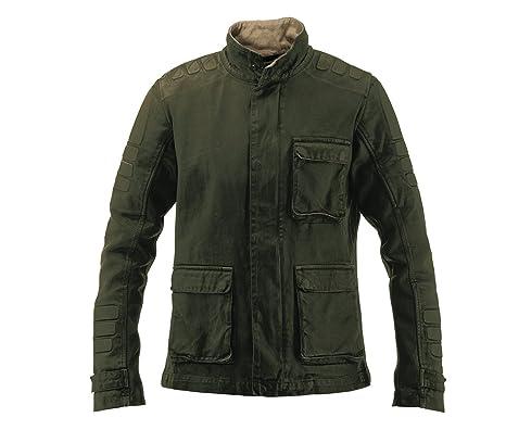 PMJ distrito Vintage chaqueta, verde, tamaño L: Amazon.es ...