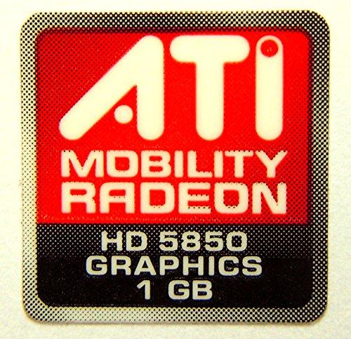 Original ATI Mobility Radeon HD5850 Graphics 1GB Sticker 16 x 16.5mm [444] ()