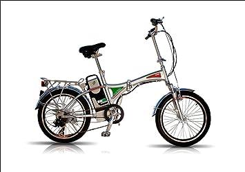 Bicicleta Eléctrica Plegable con Batería de Litio Desmontable 12 ...
