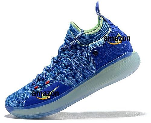KD 11 Kevin Durant Paranoid AO2604-900 Bright Blue Volt Zapatillas ...
