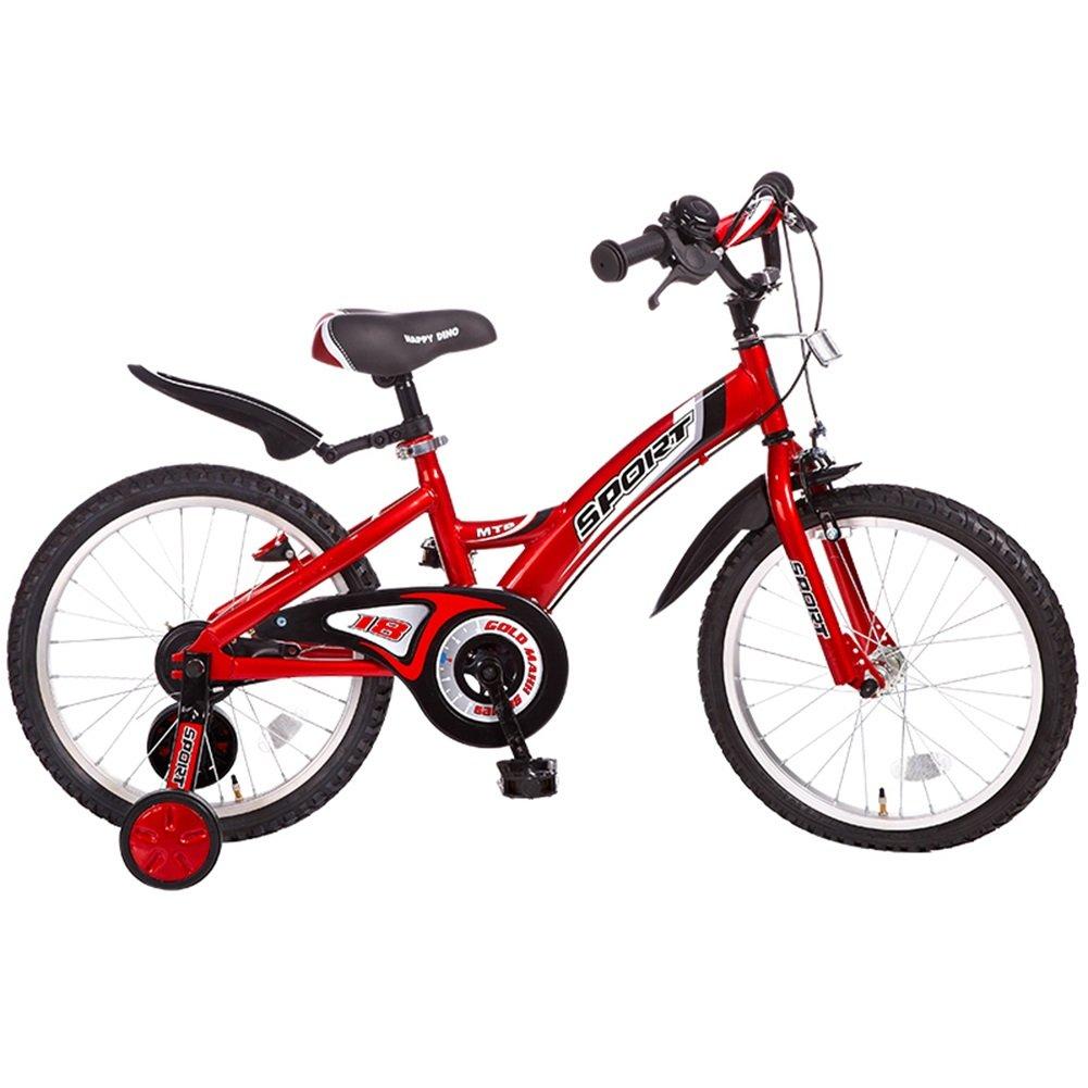 XQ 子供の自転車18インチの少女の自転車の自転車の自転車4-6歳の赤ちゃんのキャリッジ 子ども用自転車 ( 色 : 赤 ) B07CKNZTKS赤