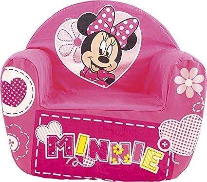 Lulabi Disney, Minnie – Sillón blando para niño, rosa
