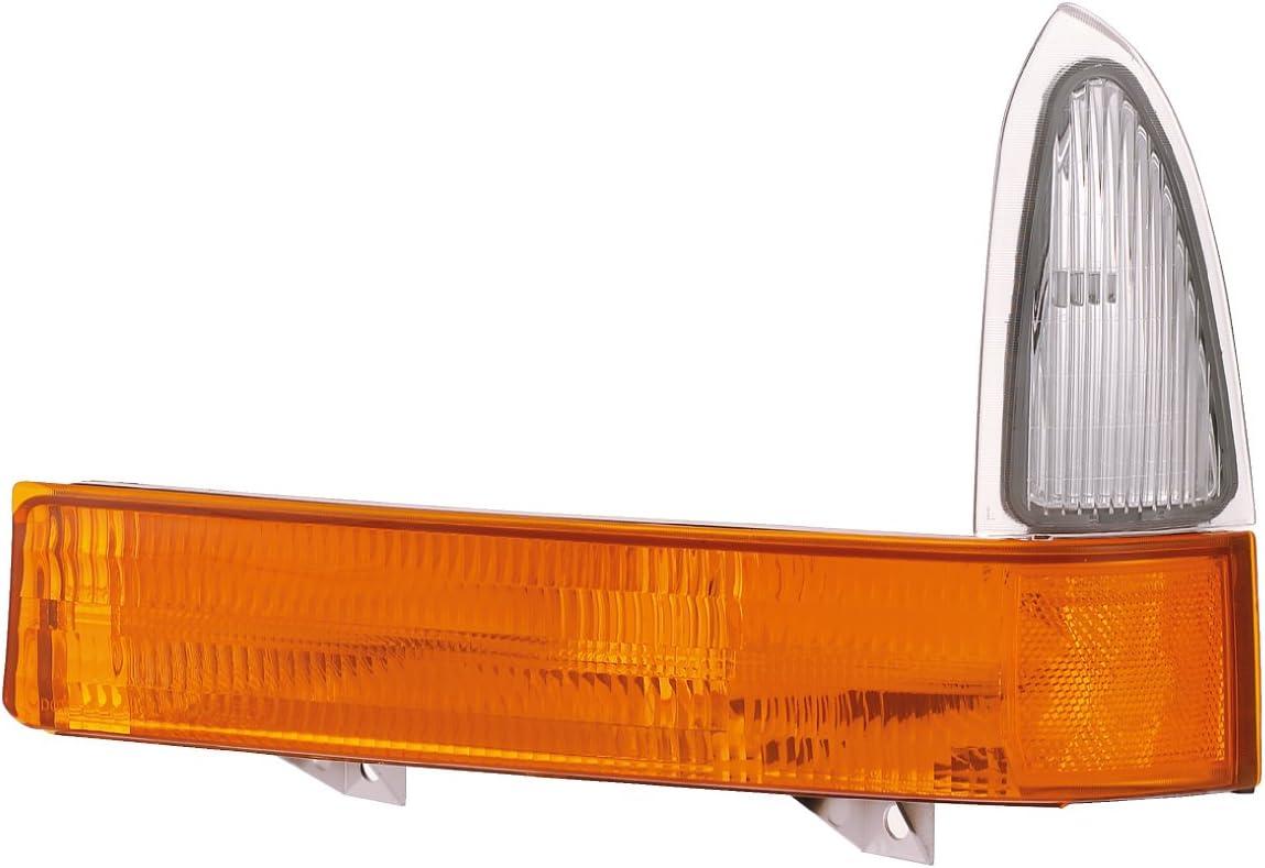 Eagle Eyes FR271-U100L Ford Driver Side Park//Signal Lamp Lens and Housing FO2520177V